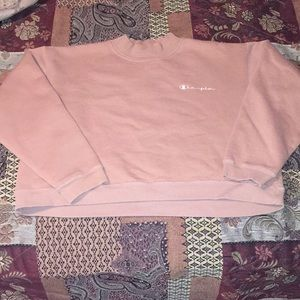 VTG CHAMPION CROPPED SWEATER